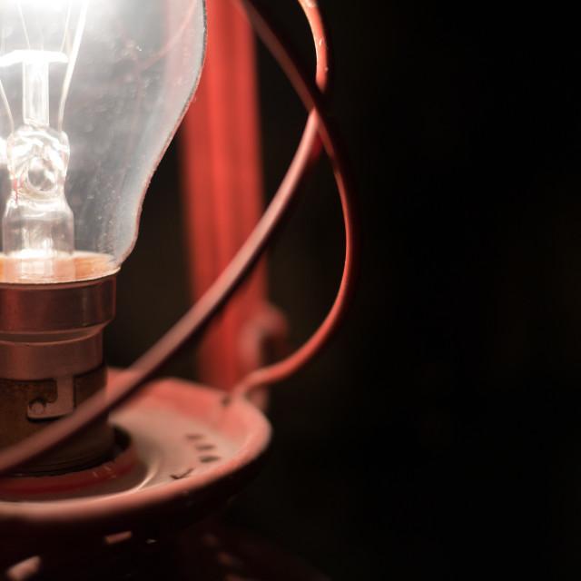 """The lantern"" stock image"
