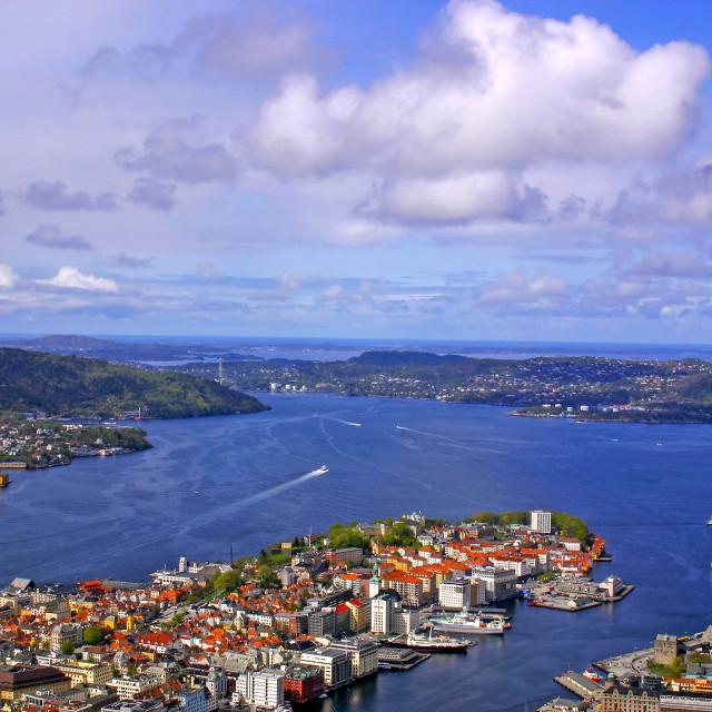 """""""Bergen"""" stock image"""