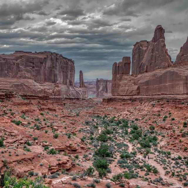 """travel-national-park-national park-arches-utah"" stock image"