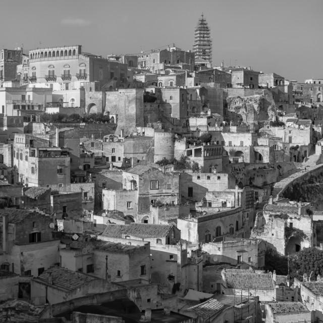 """""""Matera in Puglia, Italy"""" stock image"""