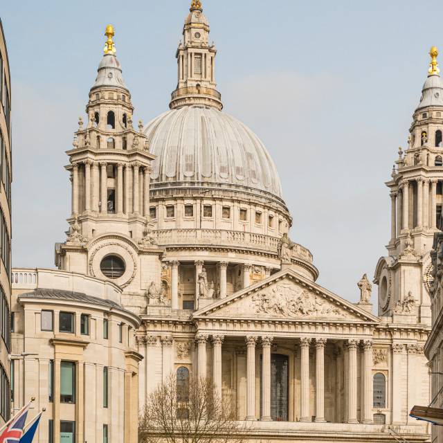 """""""St Paul's Cathedral, London"""" stock image"""