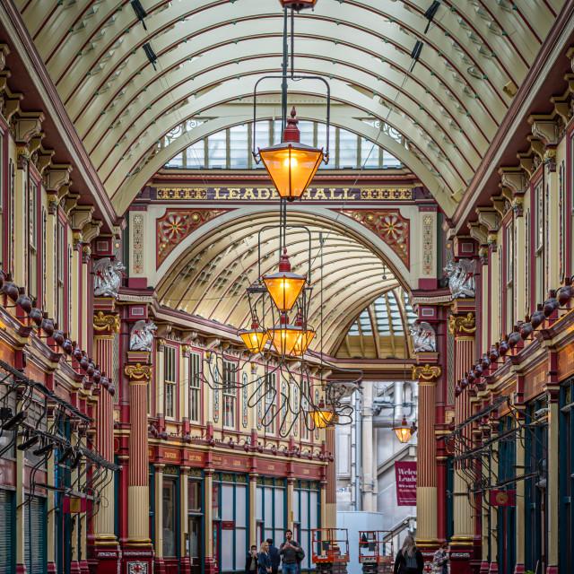 """Leadenhall Market in London"" stock image"