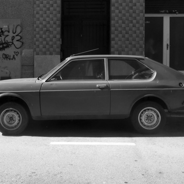 """""""Seat 128 color verde"""" stock image"""