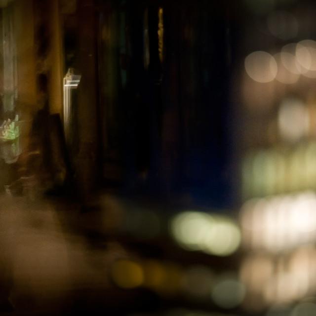 """night street"" stock image"