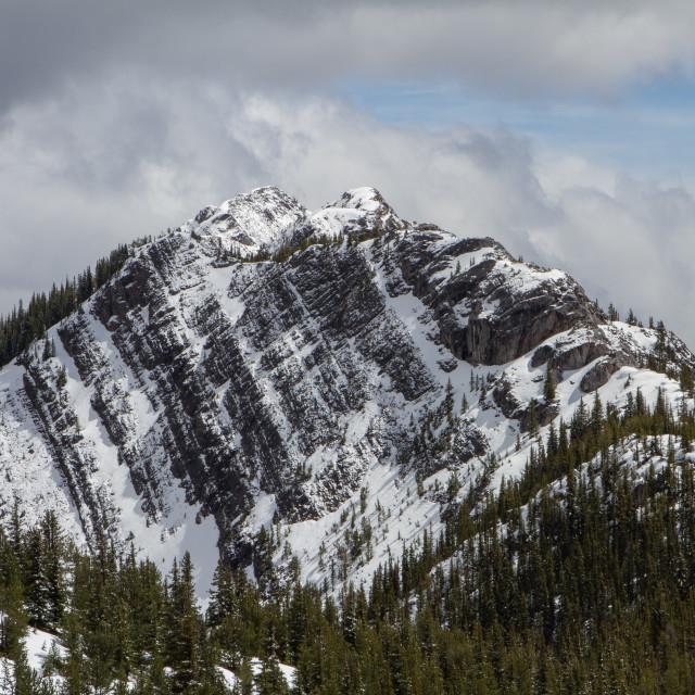"""Sulphur Mountain"" stock image"