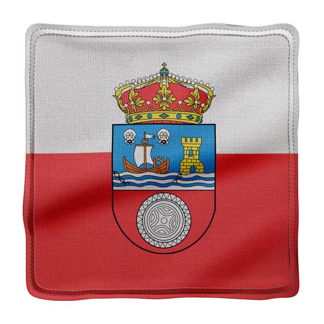 """3d Cantabria region flag"" stock image"