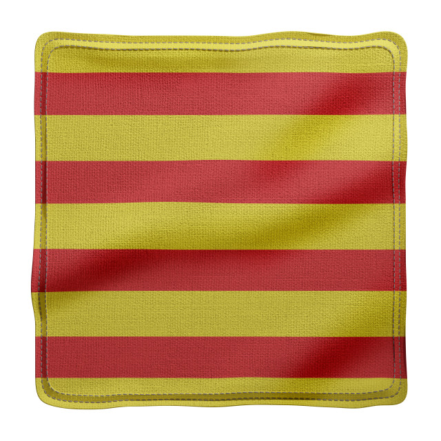 """3d Catalonia region flag"" stock image"