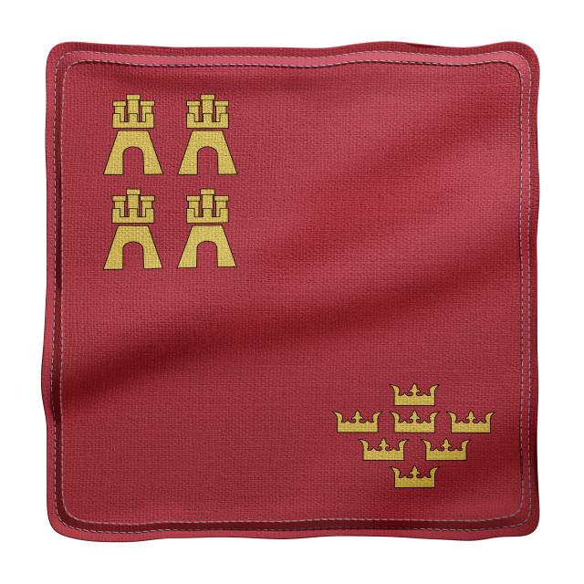"""3d Murcia region flag"" stock image"