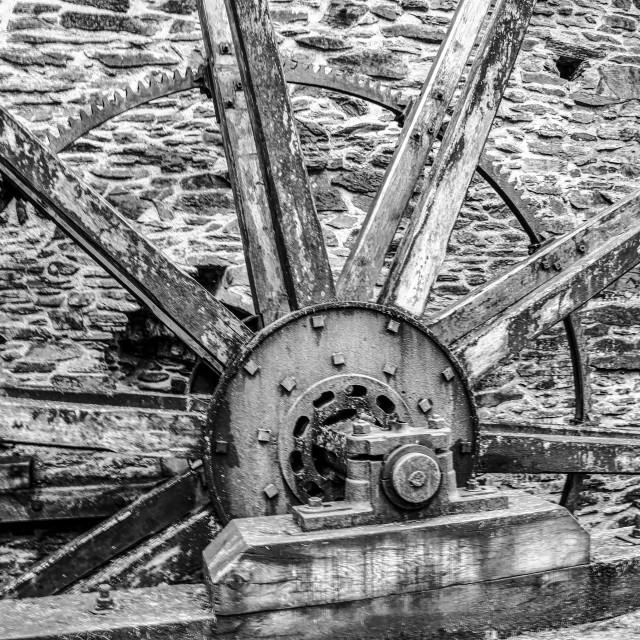 """Waterwheel"" stock image"