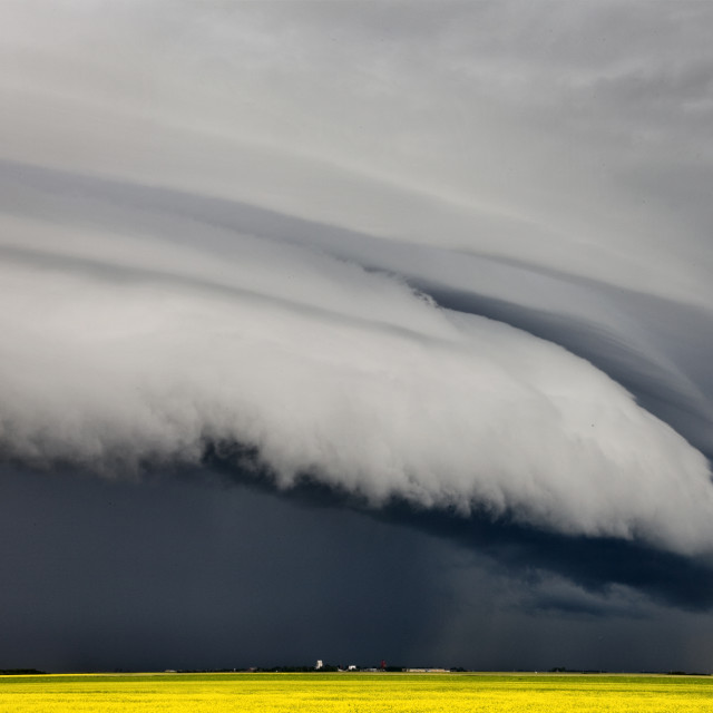 """""""Summer Storm Canada"""" stock image"""