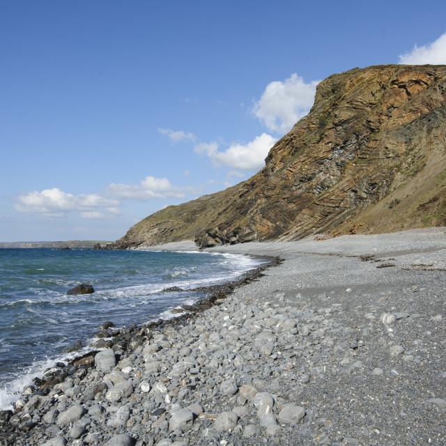 """Millook, North Cornwall"" stock image"
