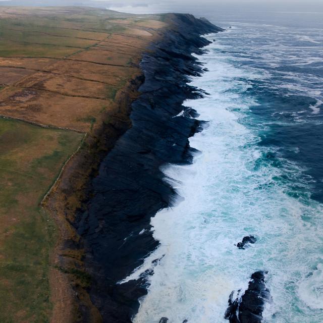 """Clare Coastline"" stock image"