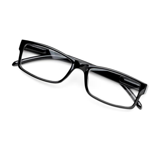 """""""Eyeglasses on White Background"""" stock image"""