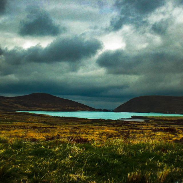 """""""Mourne Mountains"""" stock image"""