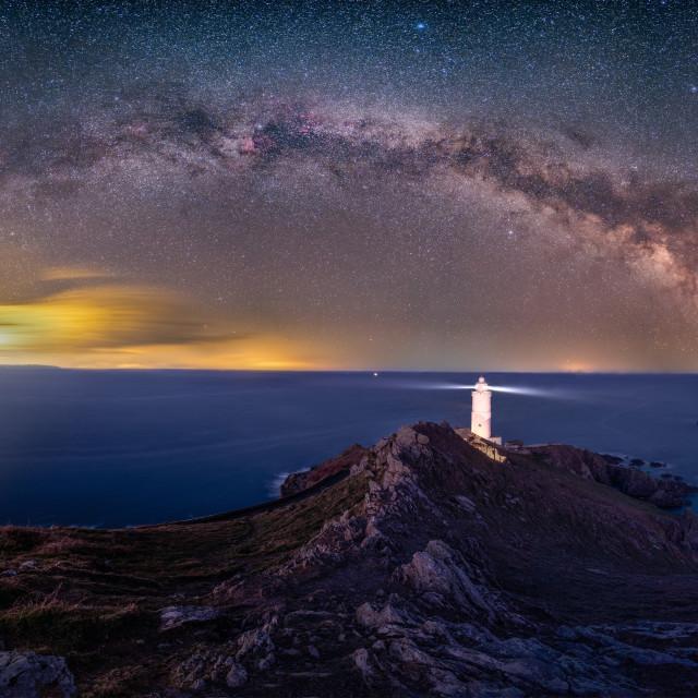 """""""Start Point Milky Way"""" stock image"""