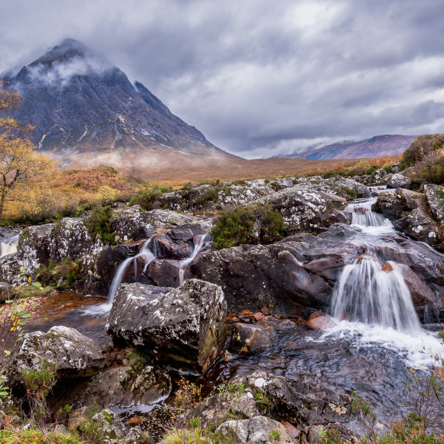 """Etive Mor, Glen Coe, Scotland"" stock image"