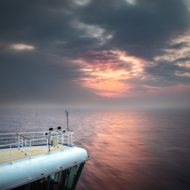 """""""Sea pictures ... Once upon a time"""" stock image"""