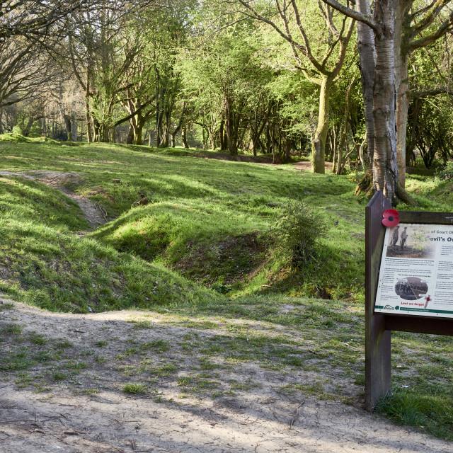 """""""UK - Herts - WW 1 Memorial at Berkhamsted"""" stock image"""