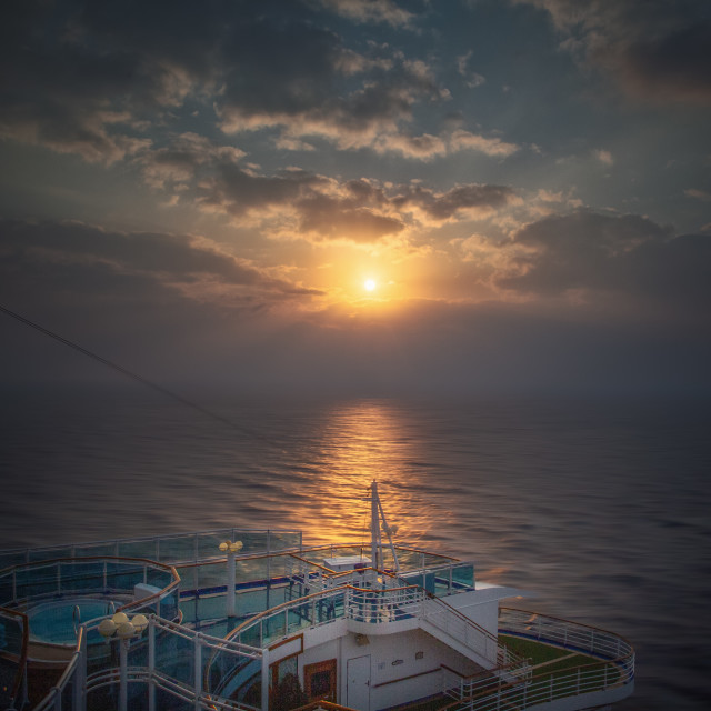 """""""Sea pictures .... Once upon a time"""" stock image"""