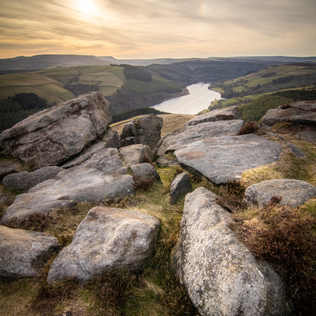 """""""Whinstone Lee Tor"""" stock image"""