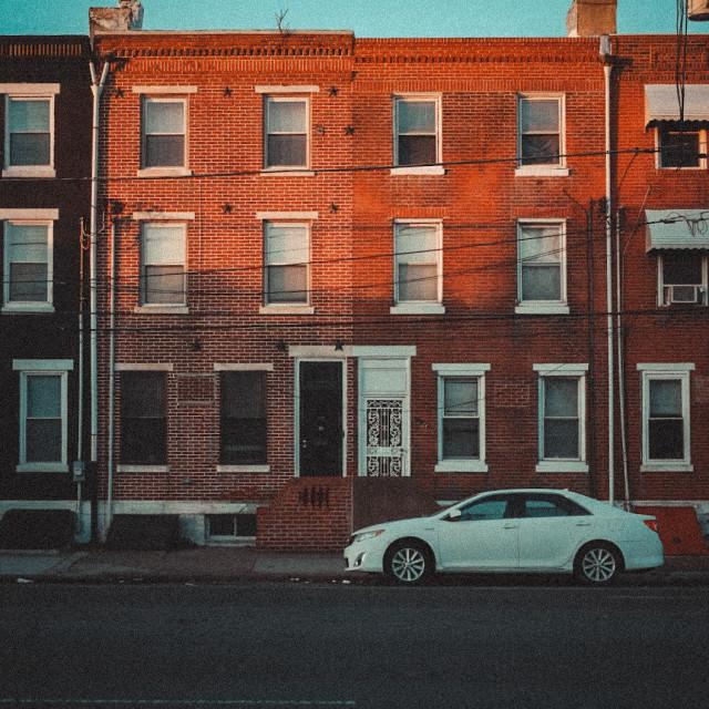 """Calm apartment view"" stock image"