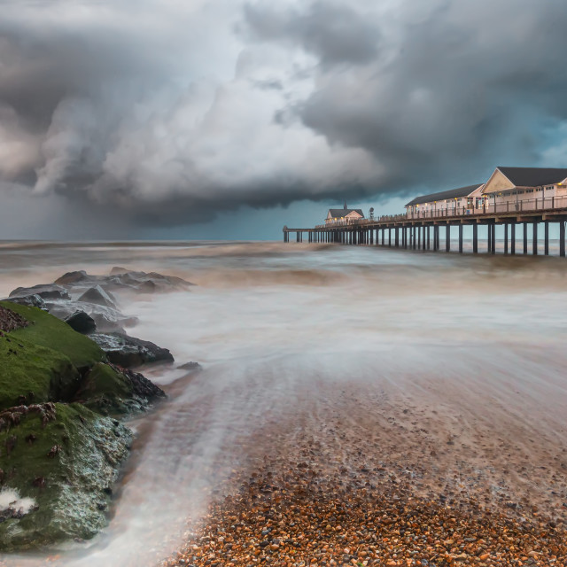 """""""Storm Approaching"""" stock image"""