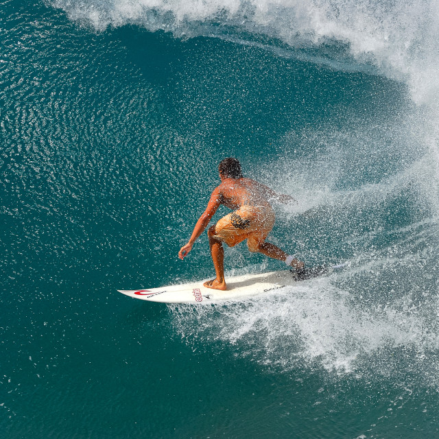"""""""Surfing ..."""" stock image"""