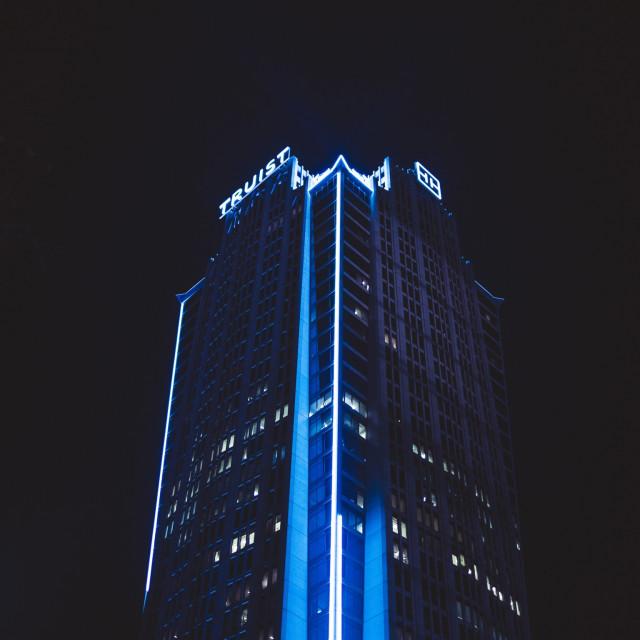 """Blue city"" stock image"