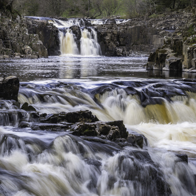 """""""Low Force, Teesdale"""" stock image"""