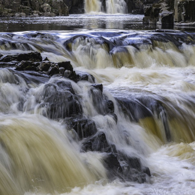 """""""Low Force, County Durham"""" stock image"""