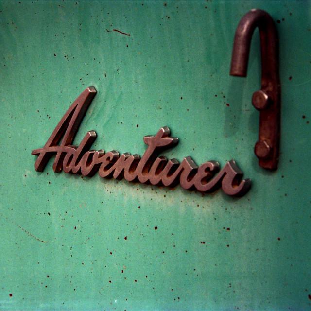 """Adventurer"" stock image"