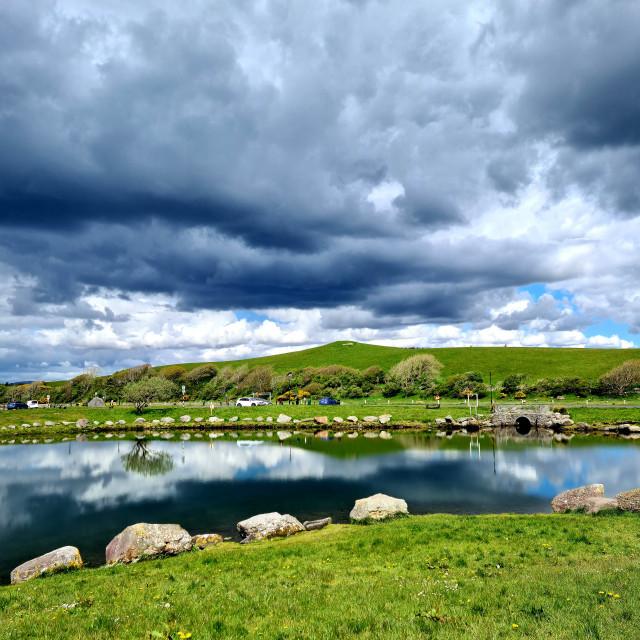 """""""Irish skies"""" stock image"""