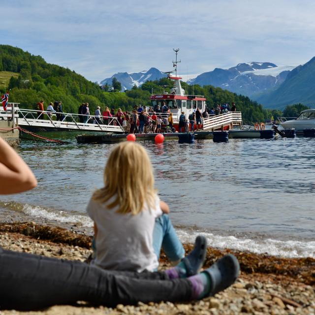 """Holliday i Norway"" stock image"