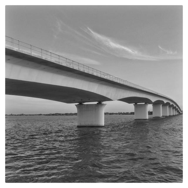 """Sarasota Bridge"" stock image"