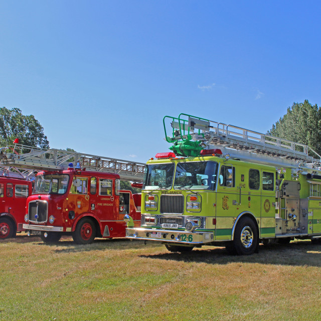 """""""Fire Engines"""" stock image"""