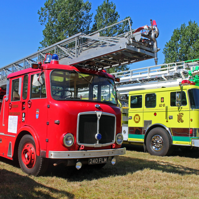 """Fire Engine"" stock image"