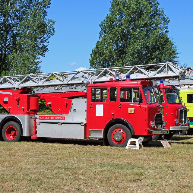 """Fire Engines"" stock image"