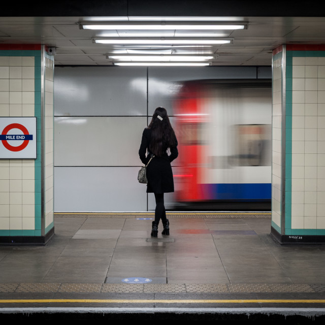 """Crossrail"" stock image"