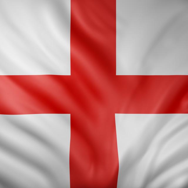 """Old England flag"" stock image"