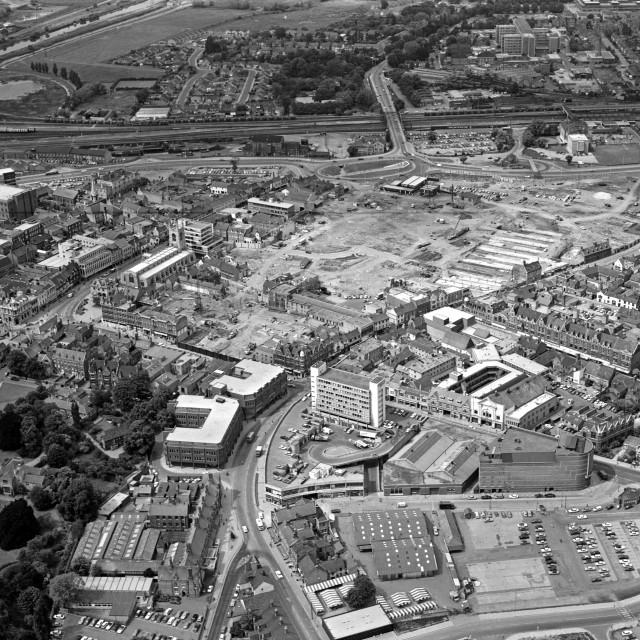 """City Centre - June 1978"" stock image"