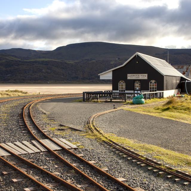 """Fairbourne Railway"" stock image"