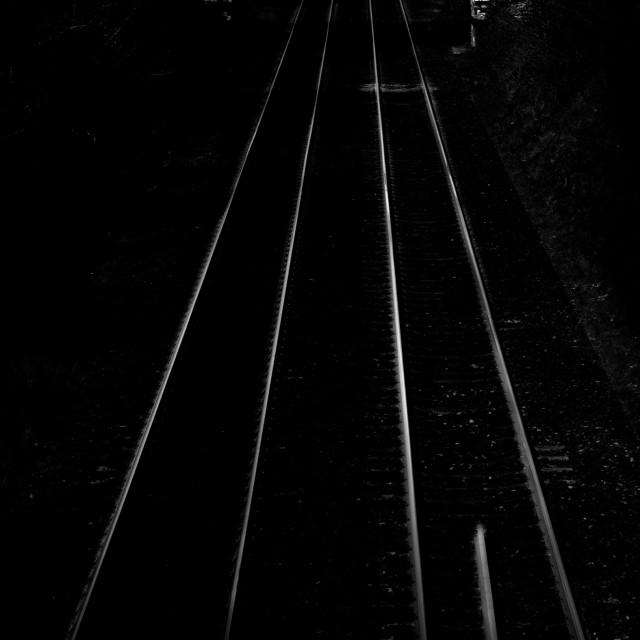 """railway lines"" stock image"