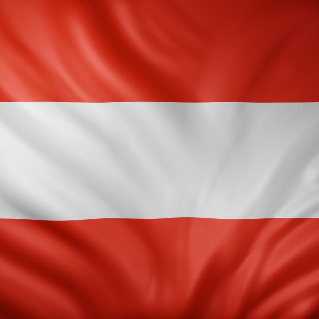 """Austria 3d flag"" stock image"