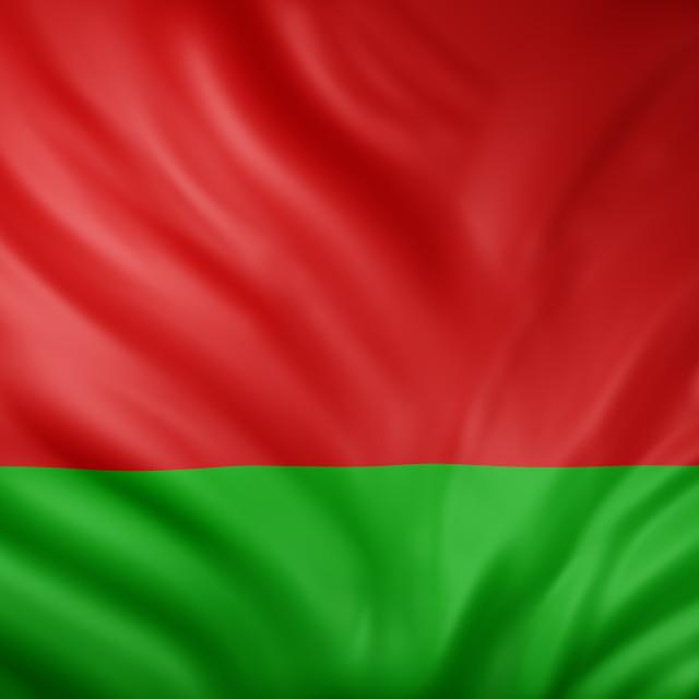 """Belarus 3d flag"" stock image"