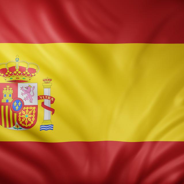 """""""Spain 3d flag"""" stock image"""