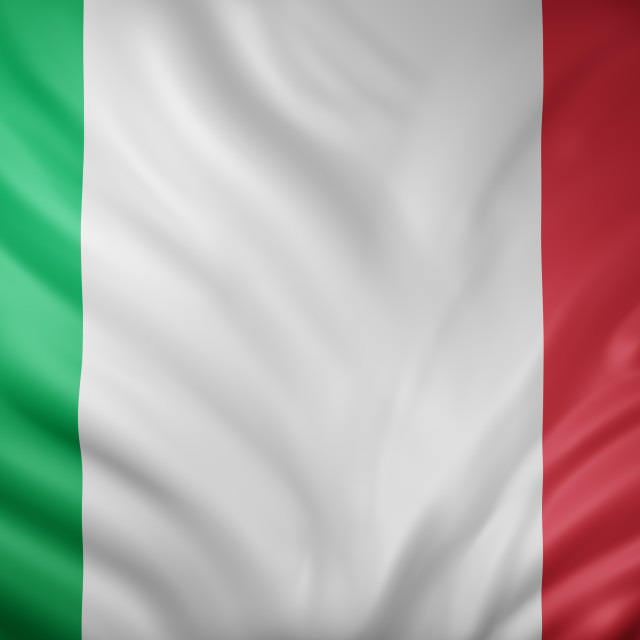 """""""Italy 3d flag"""" stock image"""