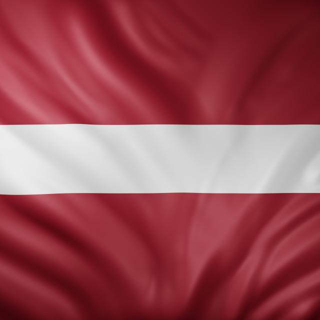 """Latvia 3d flag"" stock image"