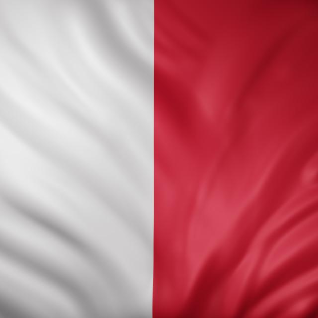 """Malta 3d flag"" stock image"