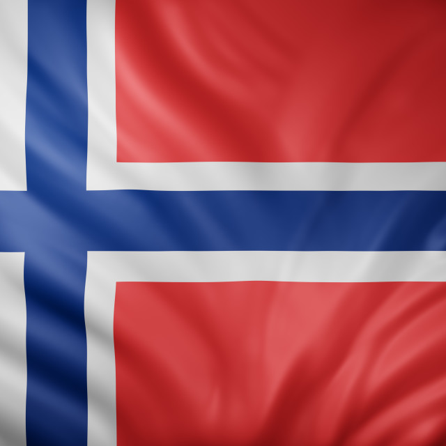 """""""Norway 3d flag"""" stock image"""