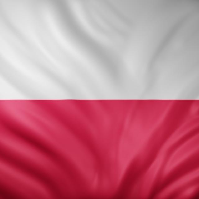 """Poland 3d flag"" stock image"